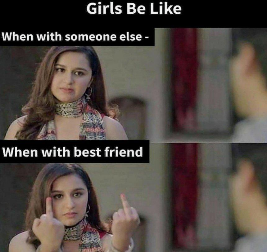 Girls Sarcastic memes