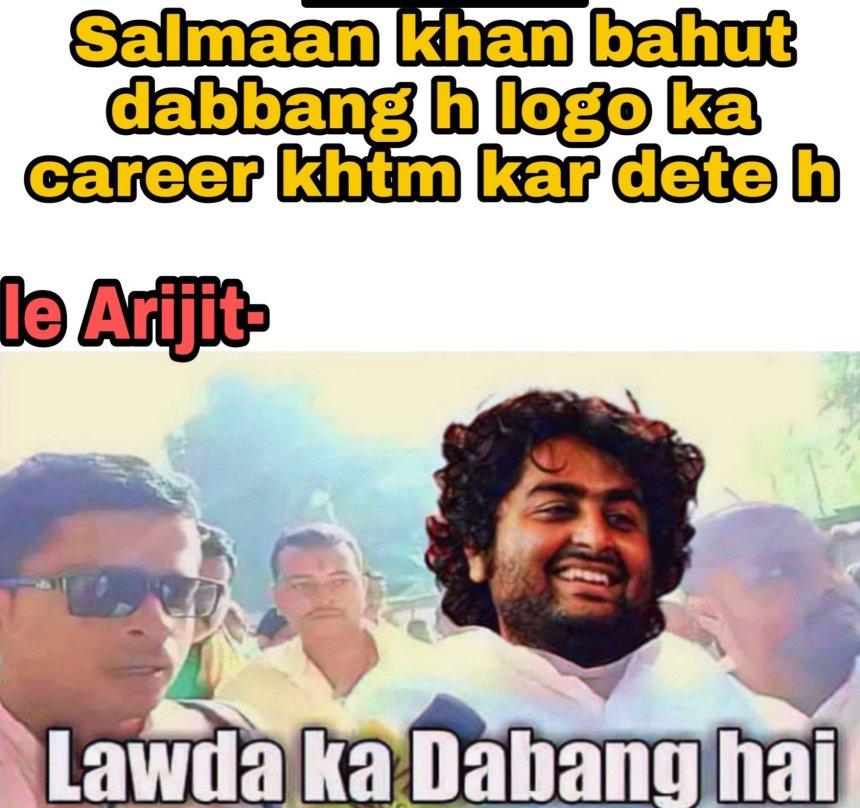 Arijit singh memes Hindi