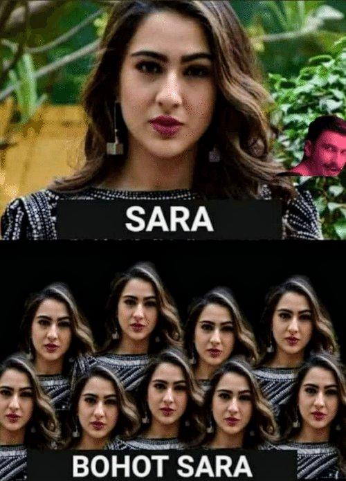 Sara Ali Khan Memes