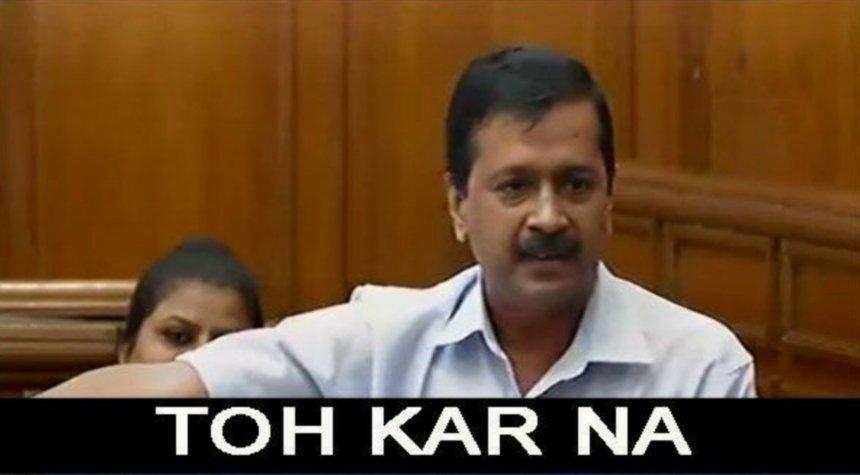 To karna meme template, Arvind Kejriwal memes