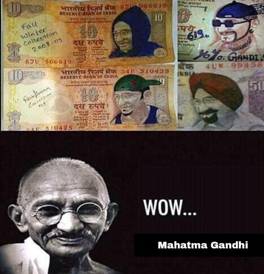 Funny Mahatma Gandhi memes
