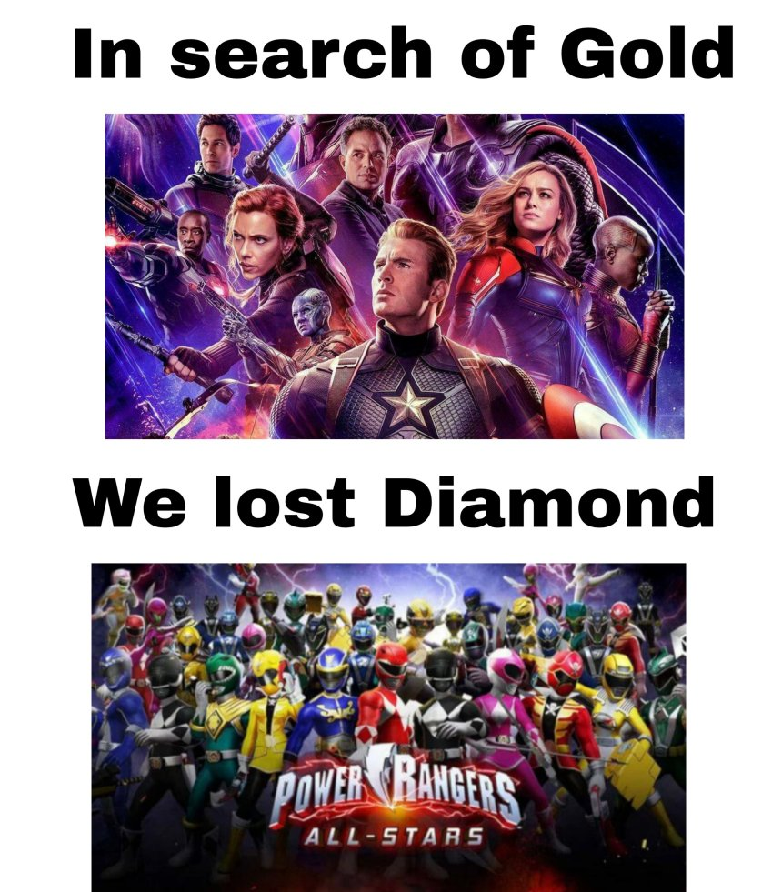 In search of Gold we lost Diamond memes Hindi