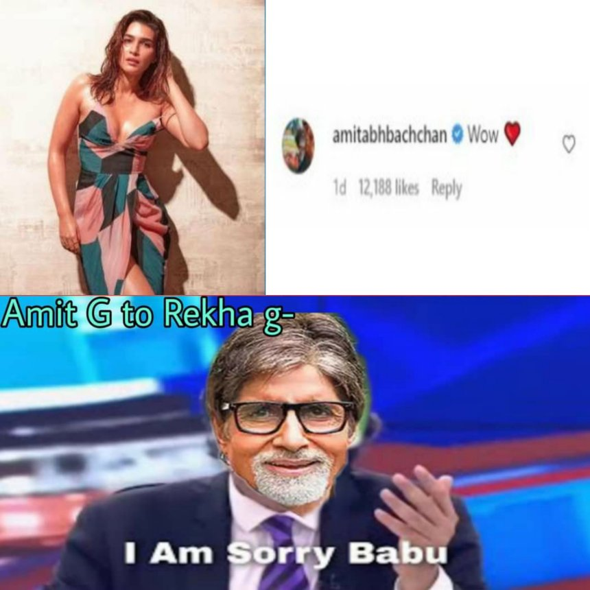 amitabh bachchan rekha memes and jokes