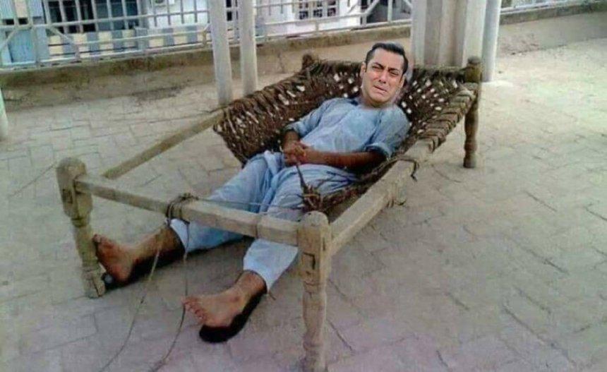 Salman Bhai memes Farmhouse