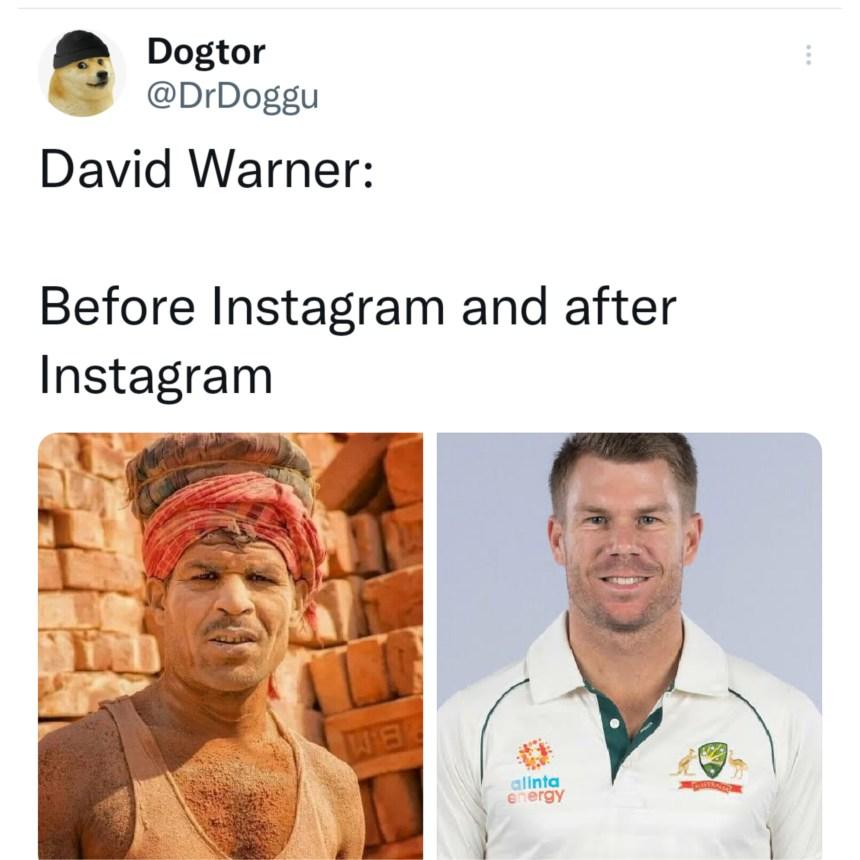 David Warner memes