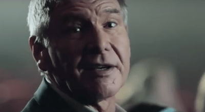 harrison ford sky advert