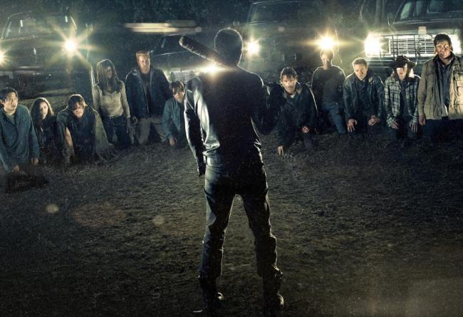 Walking Dead season 7 advert