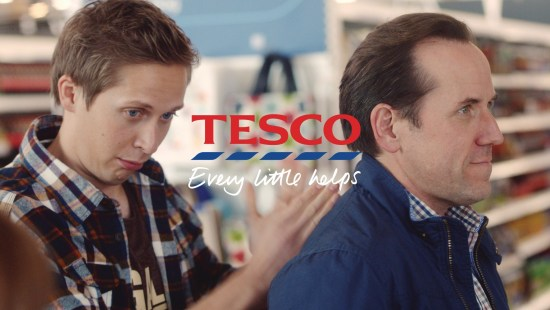 tesco advert son