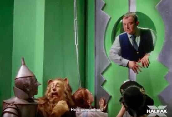 Halifax Wizard Of Oz advert