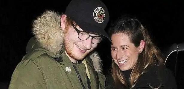 ed sheeran e a sua namorada cherry seaborn saem para jantar em londres em comemoracao ao lancamento do album divide