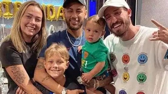 neymar carol dantas e davi lucca credito da foto reproducao instagram
