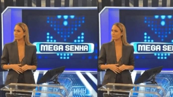 Sarah Andrade participou do Mega Senha, da RedeTV! (Reprodução)