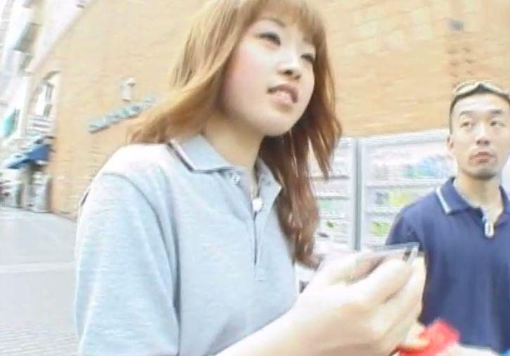 茶髪で可愛い横浜ギャル