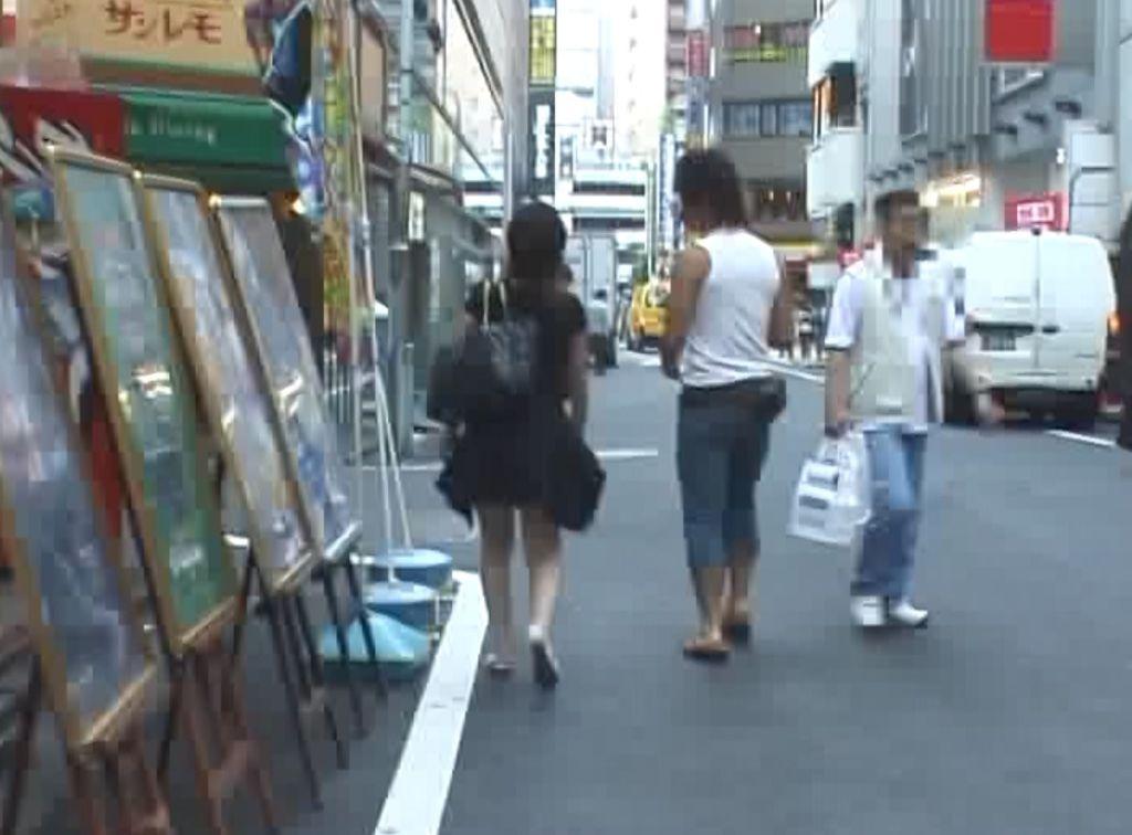 石橋渉のVDOLハンター1 No.9 VOL9の茶髪女子