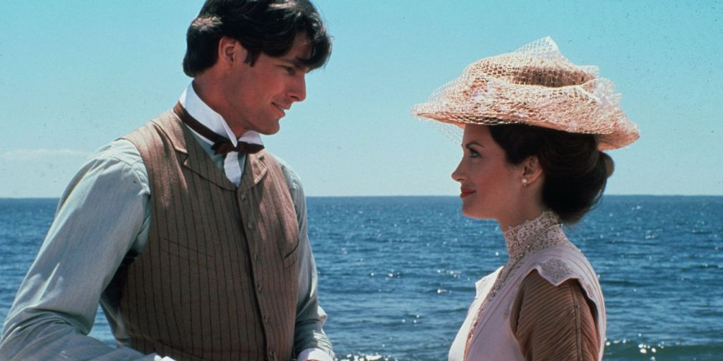 Christopher Reeve and Jane Seymour,