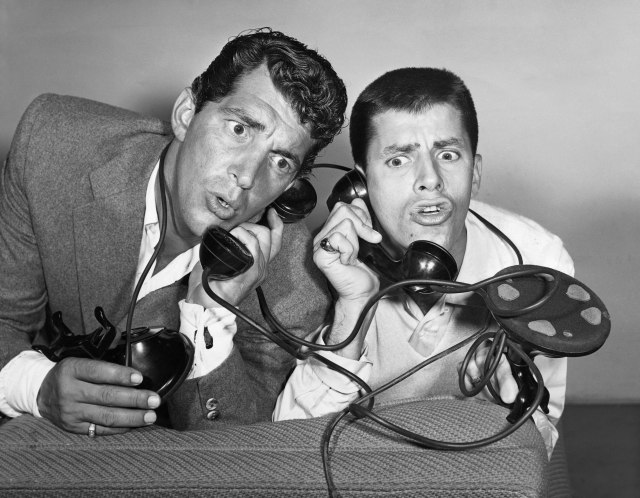 Make sure to call a Uber for that ride home.   Even Dean Martin and Jerry Lewis can do it!