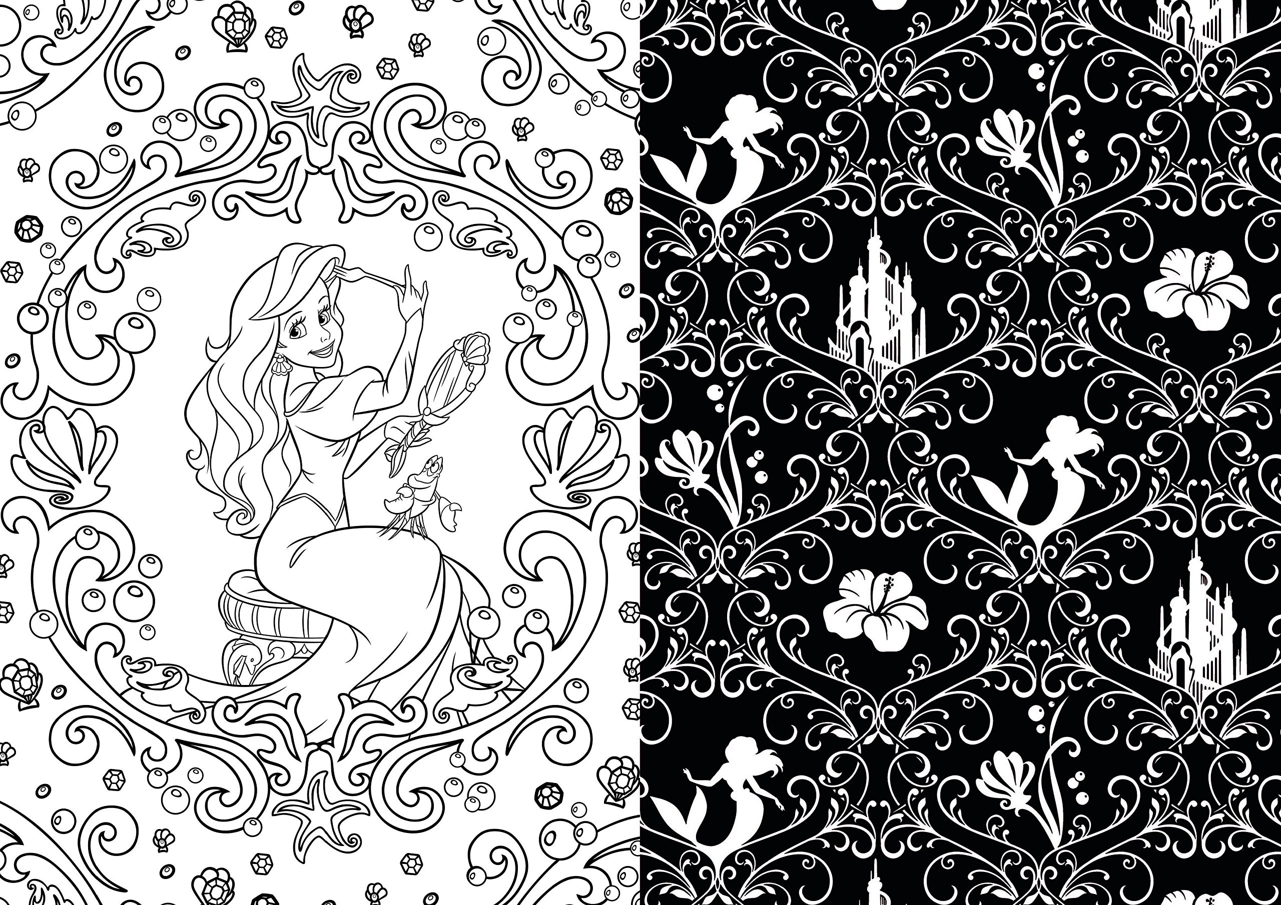 Art Of Coloring Disney Princess 100 Images To Inspire Creativity