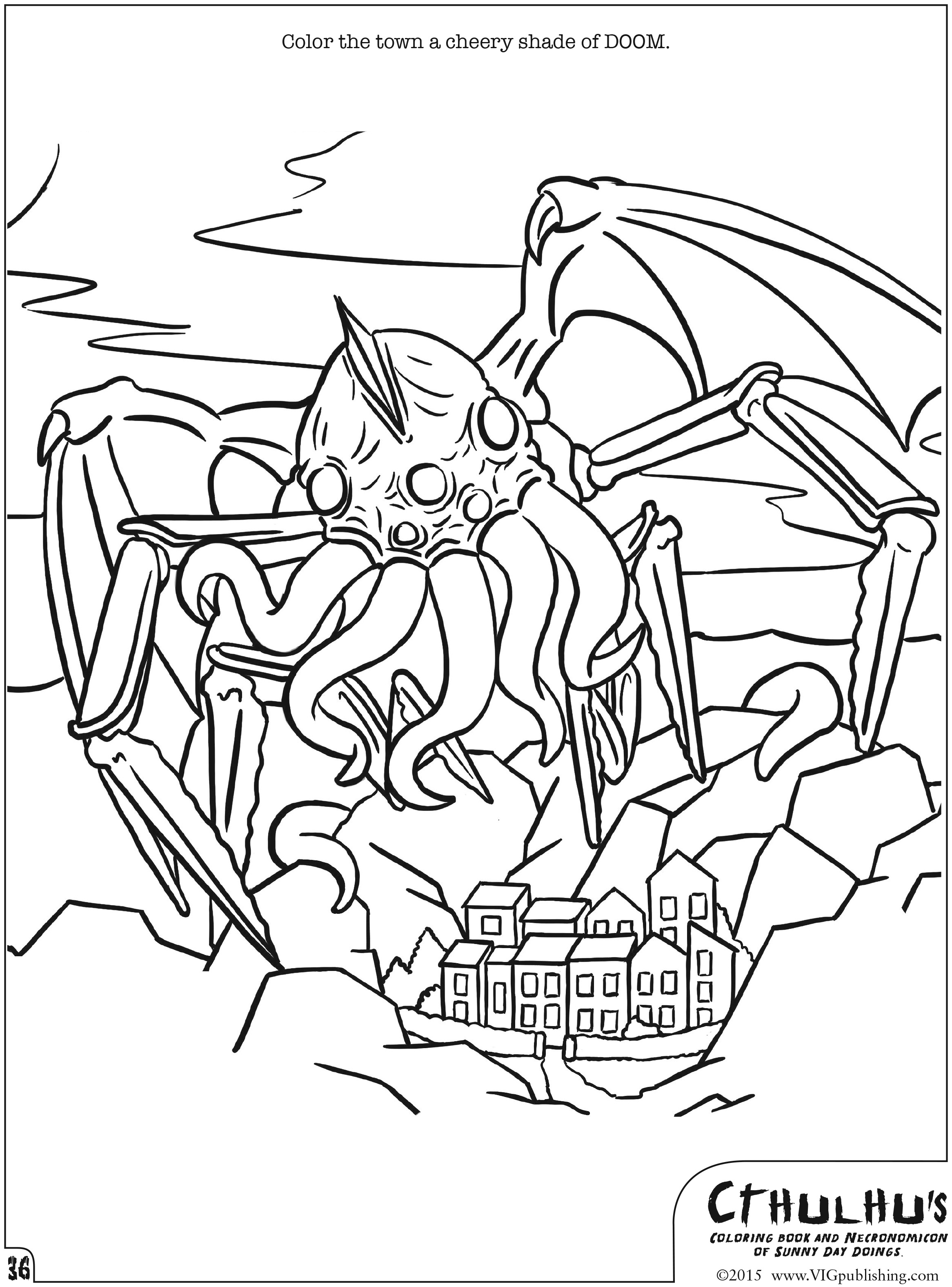 List of Cthulhu Coloring Book Pdf Pict - Best Pictures