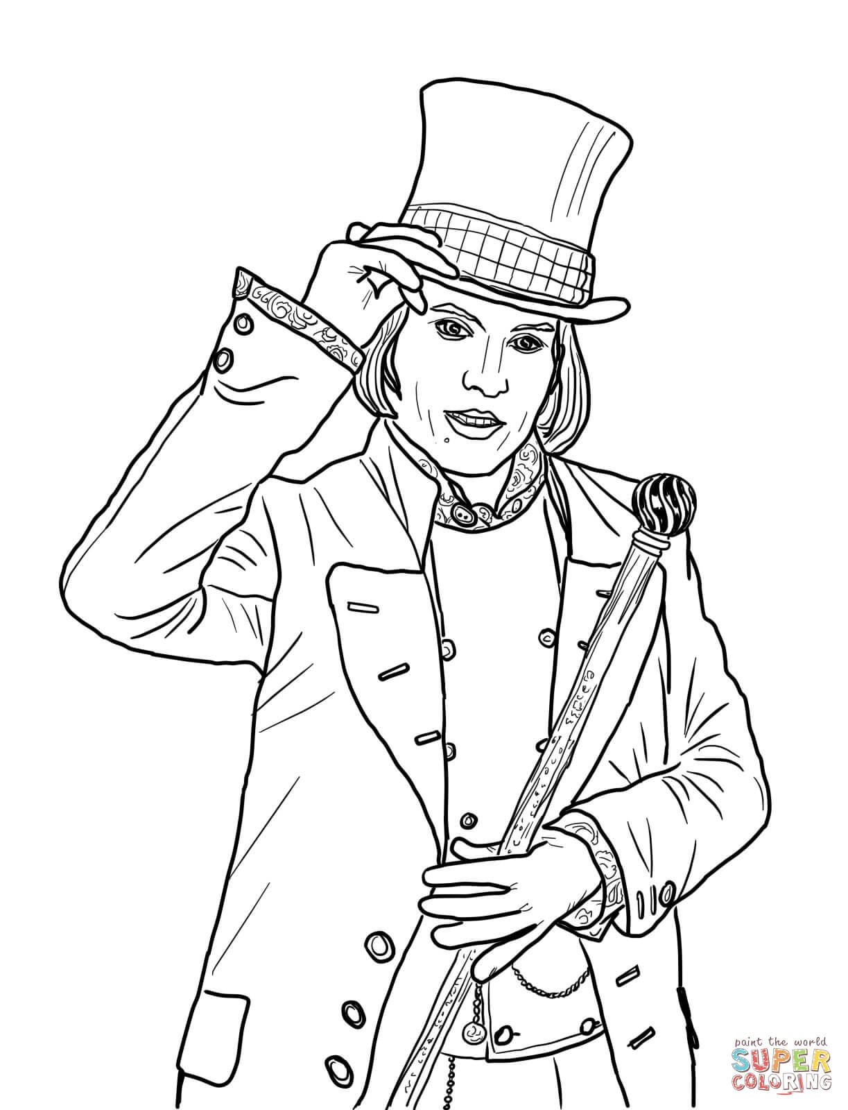 28 Willy Wonka Coloring Pages Compilation