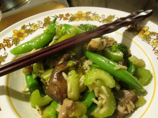 Chinese New Year Stir Fry