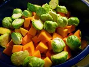 Veggies in Bowl