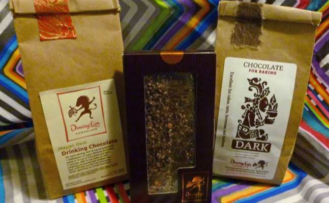 A selection of some of the chocolate Denise bought, as she's already eaten some of it.