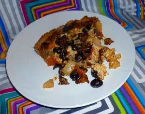 Deep Dish Cast Iron Skillet Pizza