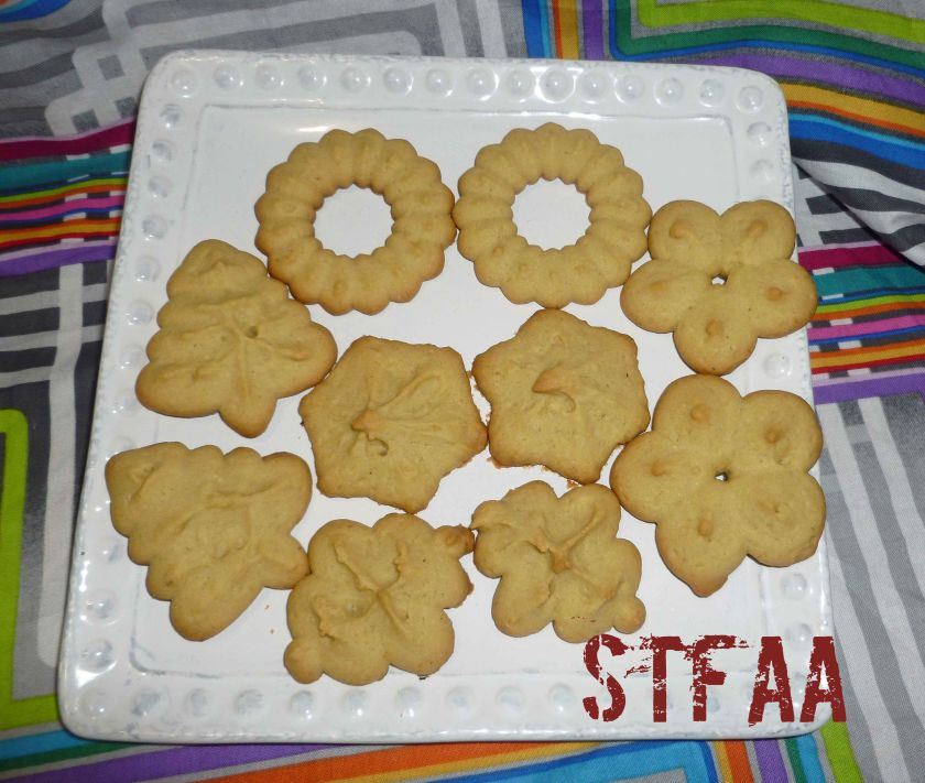 Spritz or Cookie Press Cookies - Gluten-Free, Dairy-Free, and Egg-Free