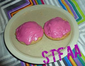 Gluten-Free No-Toaster Pastries with Frosting