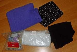 Fabrics and snap kit