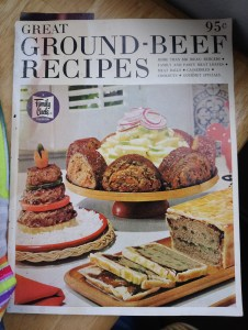 Image shows a 1965 magazine-sized cookbook.
