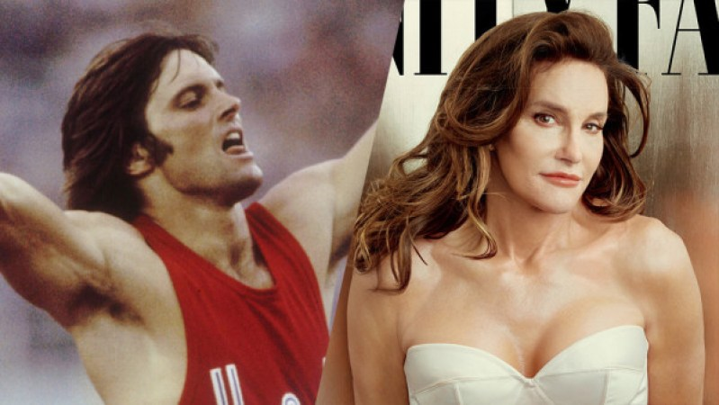Bruce and Caitlyn Jenner