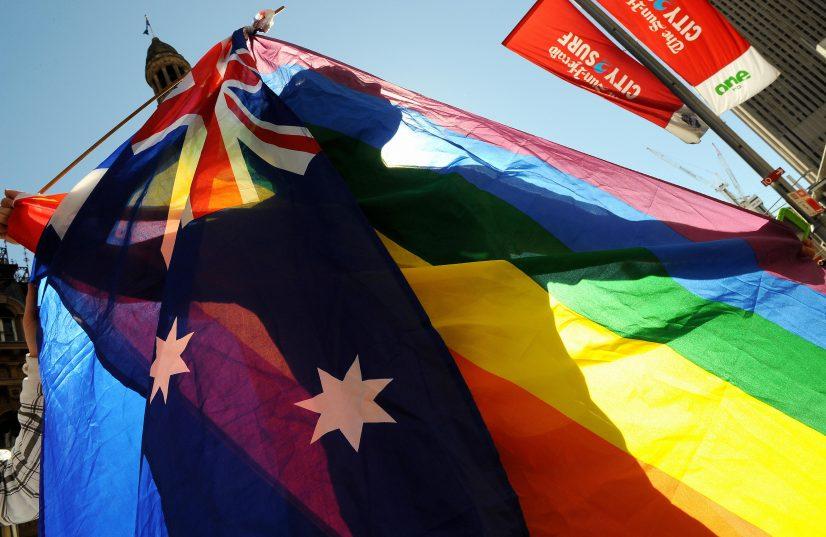 LGBTQI Rainbow Flag