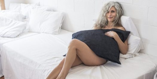 Sexually Attractive Elderly Woman