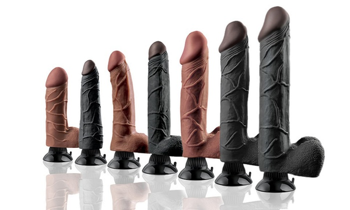 Real Feel Deluxe Dildo Sizes