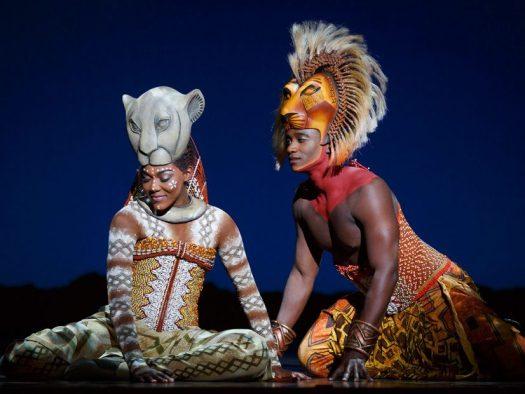 The Secret Lion Circus Actors Dressed as Lions