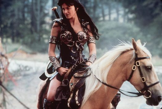 Lucy Lawless and Xena