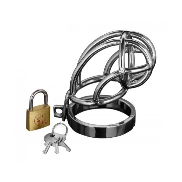 Surgical Steel Cock Cage