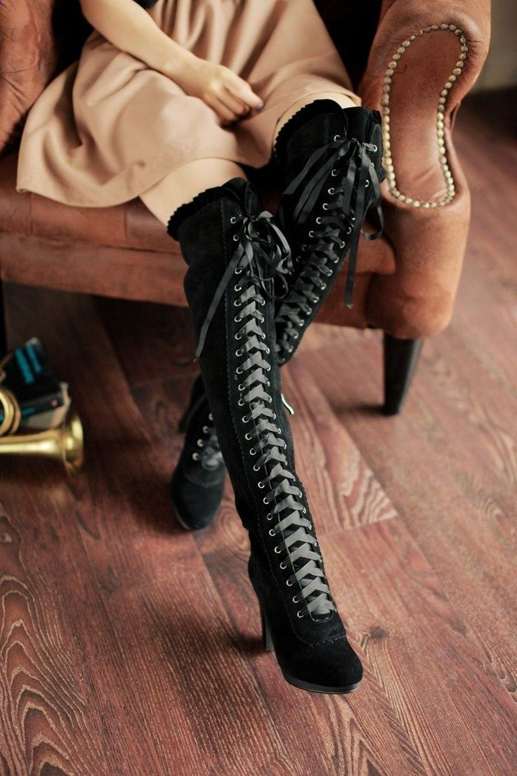 Leather Boots Photo