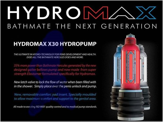 Hydromax Penis Pump Photo