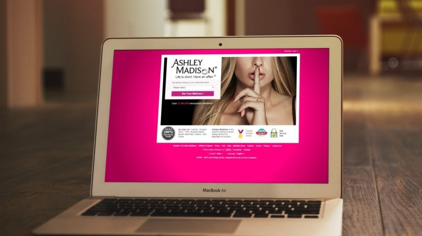Ashley Madison Website Photo