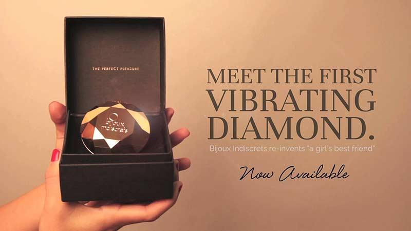 Bijoux Indiscrets Vibrating Diamond Sex Toy