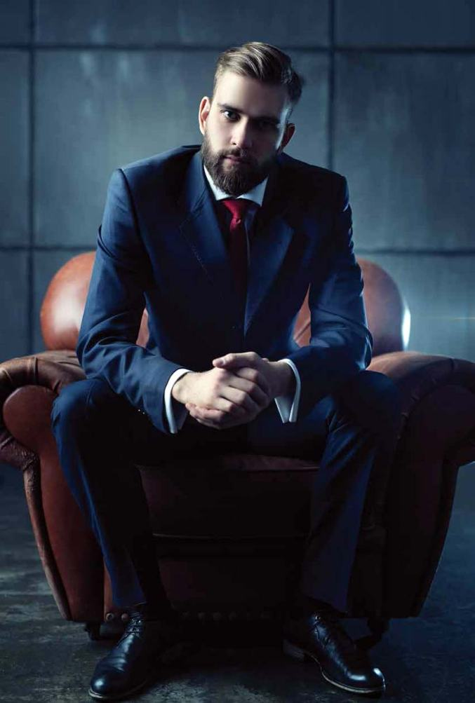 Business Man in Chair Photo