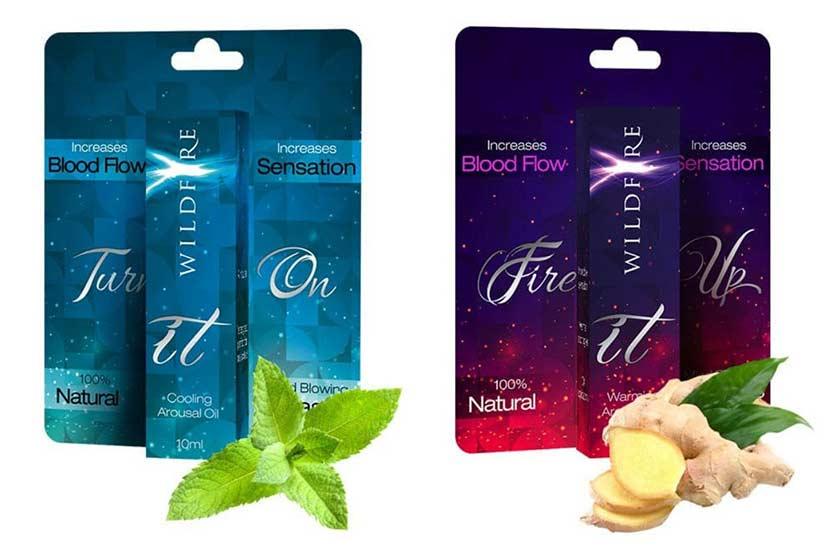 Wildfire Arousal Oils Image