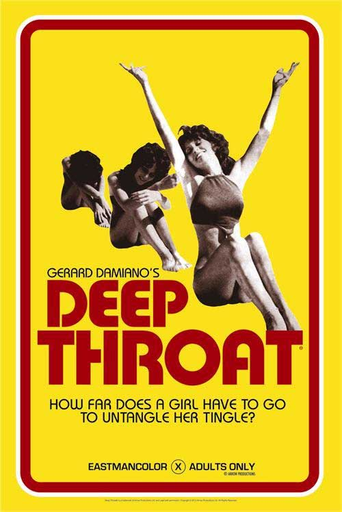 Deep Throat Movie Cover