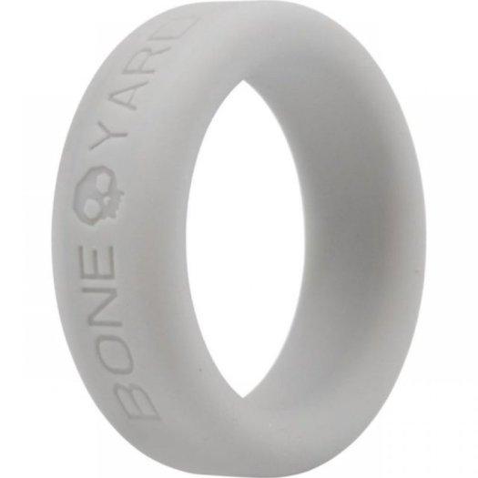 Boneyard Silicone Ring Grey Sex Toy Image