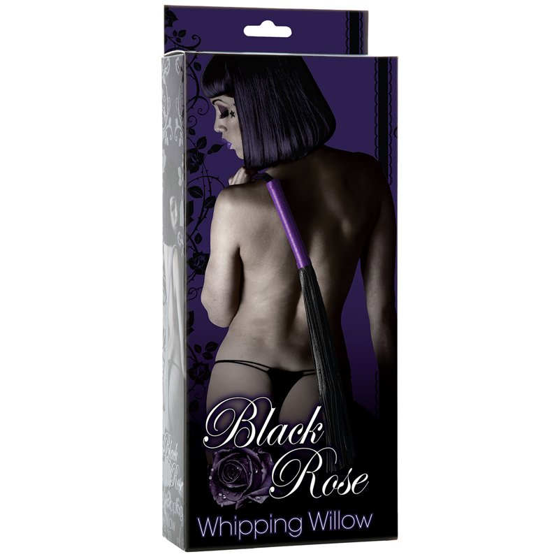 Black Rose Whipping Willow Package Sex Toy Image