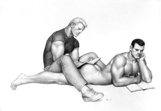Tom of Finland Masculinized Homoerotic Fetish Art