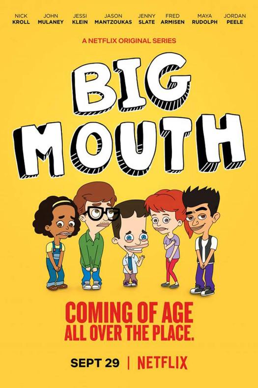 Netflix TV Show Big Mouth