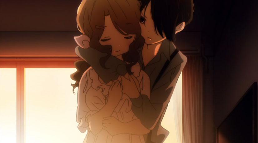 Lesbian representation in anime